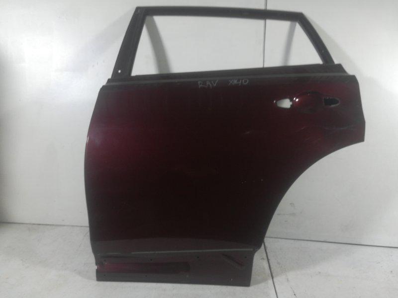 Дверь Toyota Rav4 задняя левая (б/у)