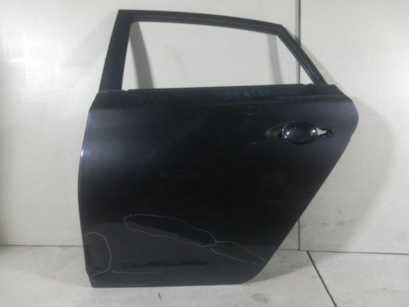 Дверь Nissan Sentra B17 2013 задняя левая (б/у)