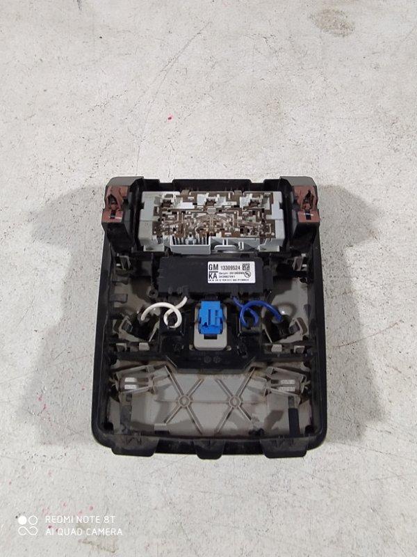 Плафон салонный Opel Astra J P10 A16XER 2012 передний (б/у)
