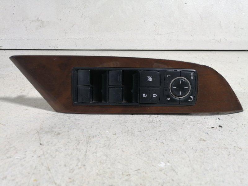 Блок управления стеклоподъёмниками Lexus Rx AL10 2009 передний левый (б/у)