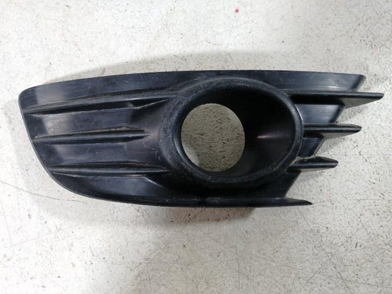 Накладка противотуманной фары Citroen C4 2004> передняя правая (б/у)