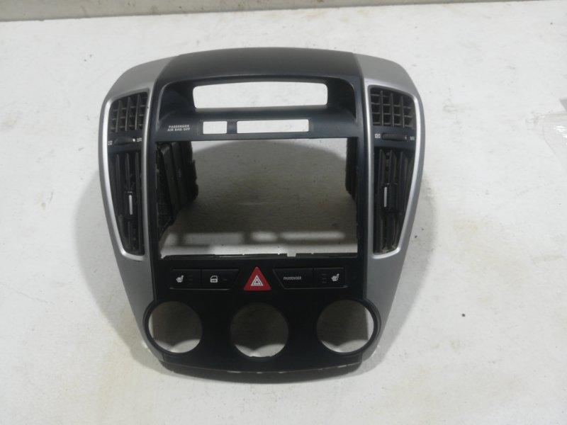 Накладка панели Kia Ceed 1 2009 передняя (б/у)