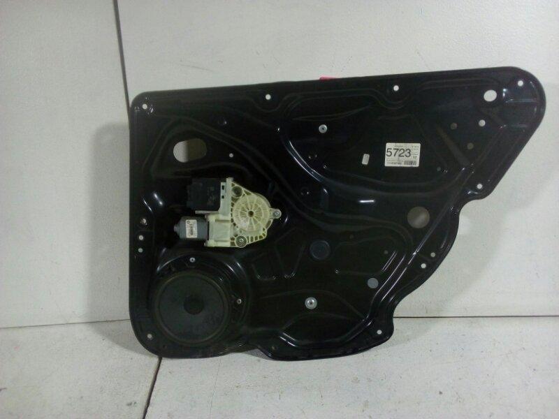Стеклоподъемник электр. Volkswagen Passat B7 B7 CDAB 2011 задний правый (б/у)