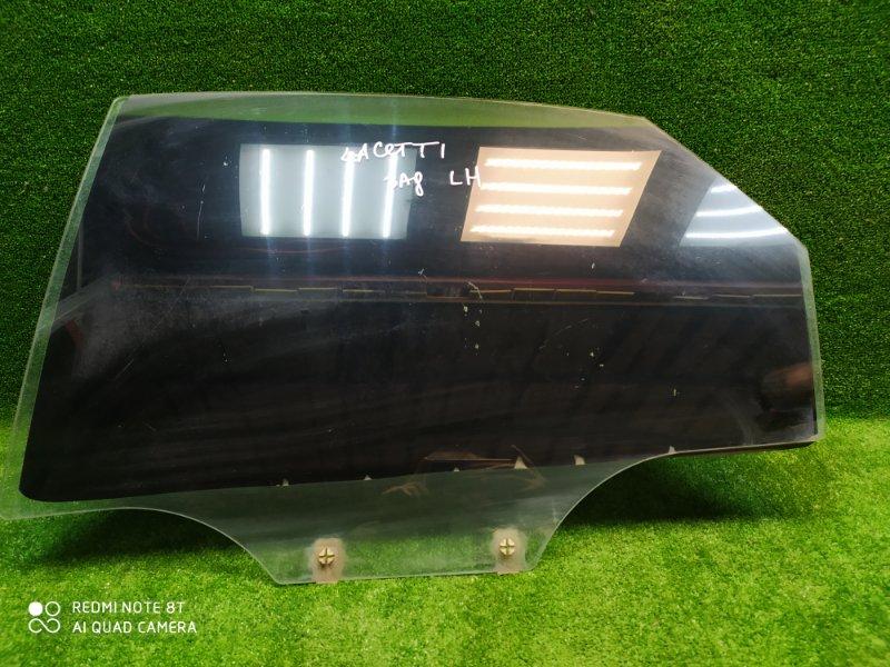 Стекло двери Chevrolet Lacetti 2003 заднее левое (б/у)