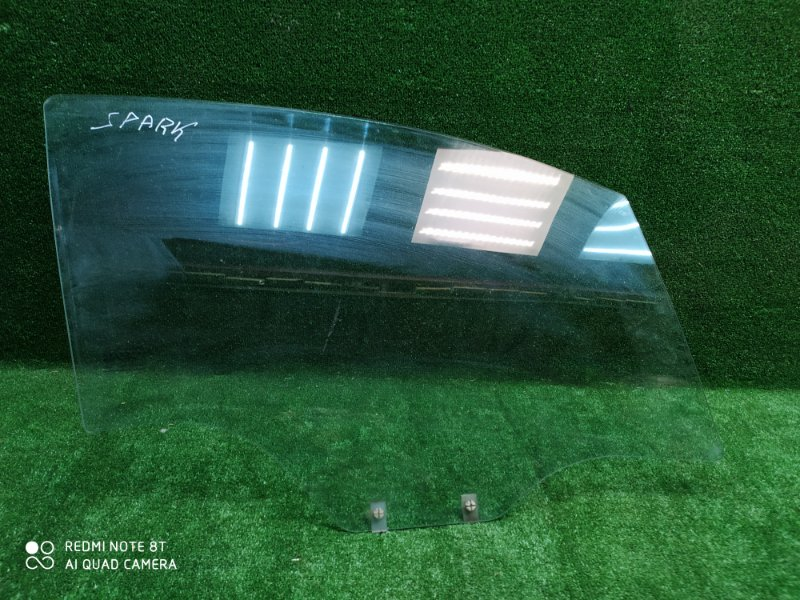 Стекло двери Chevrolet Spark 3 2012 переднее правое (б/у)