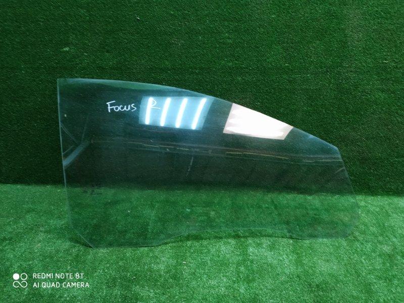 Стекло двери Ford Focus 2 2008 переднее правое (б/у)