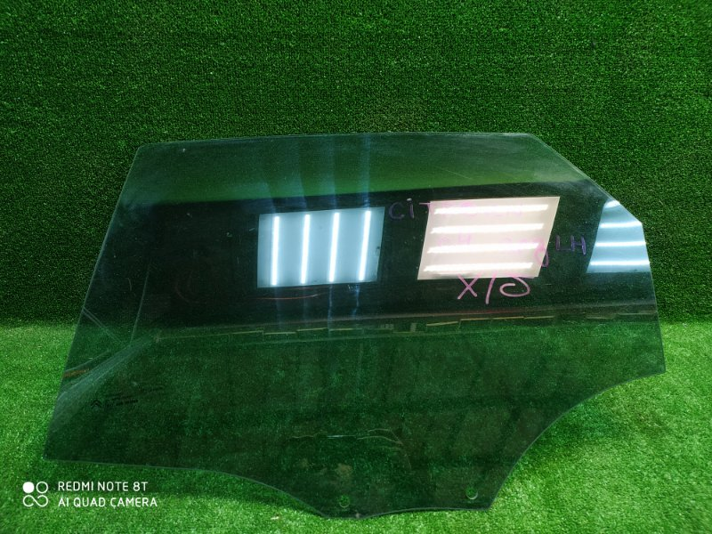 Стекло двери Citroen C4 2005 заднее левое (б/у)