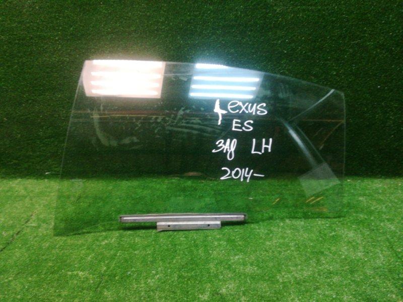Стекло двери Lexus Es 2012> заднее левое (б/у)
