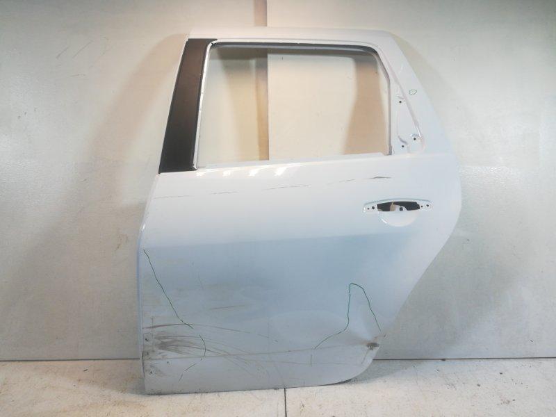 Дверь Renault Duster HSA 2012> задняя левая (б/у)