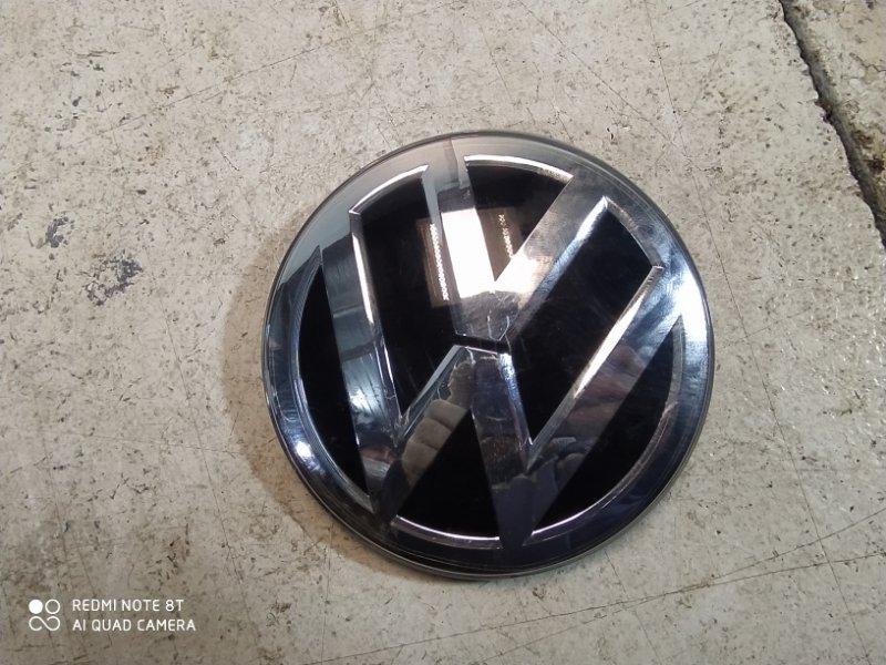 Эмблема Volkswagen Tiguan 2 2017> передняя 5NA853651GZLL (б/у)