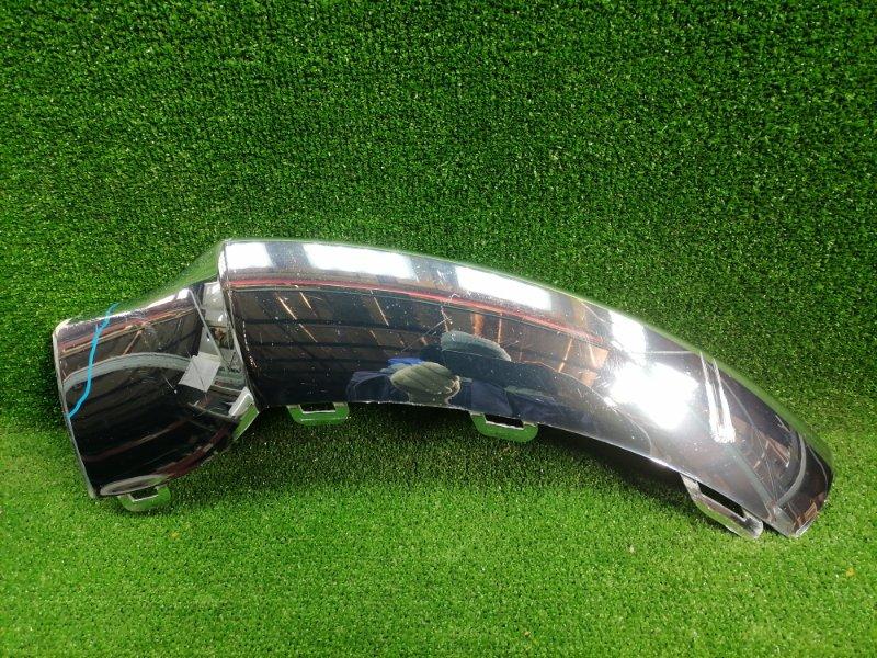 Накладка бампера передняя левая MERCEDES GLE 2015-2019 W166 A2928850900 Б/У