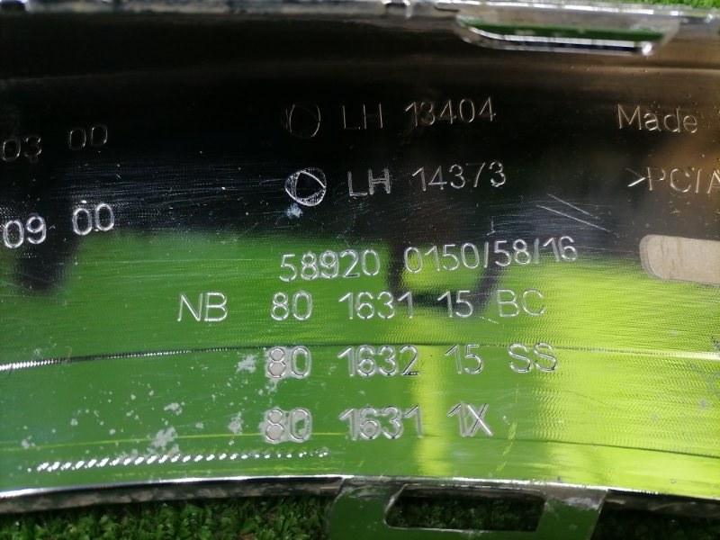 Накладка бампера передняя левая GLE 2015-2019 W166