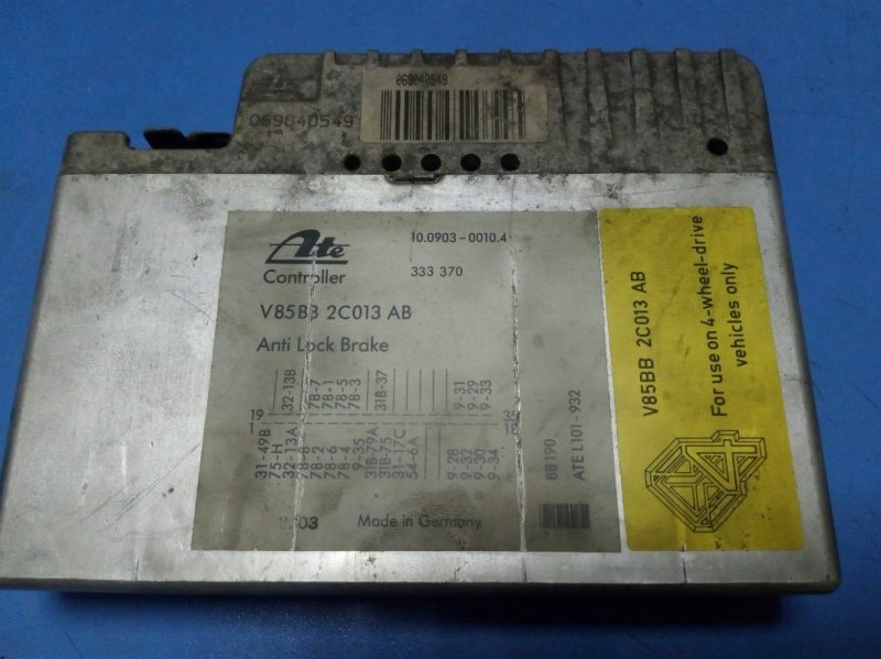 Блок управления efi Ford Sierra 1990г