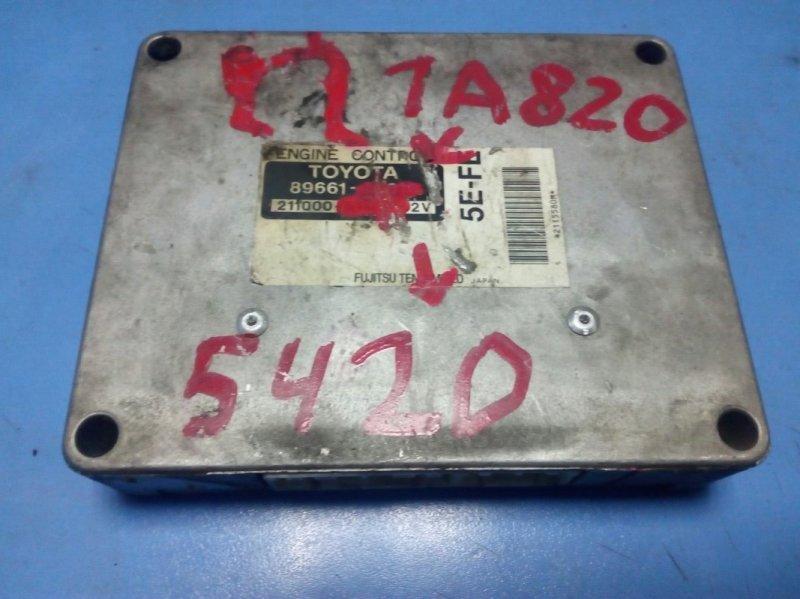 Блок управления efi Toyota Sprinter EE111 4E-FE