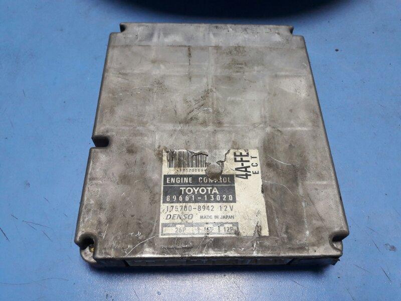 Блок управления efi Toyota Spacio AE111 4A-FE