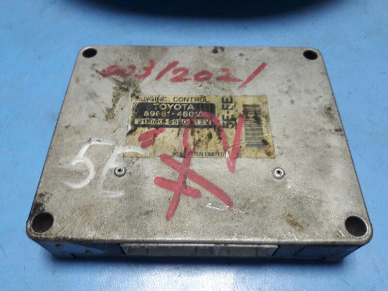 Блок управления efi Toyota 5E