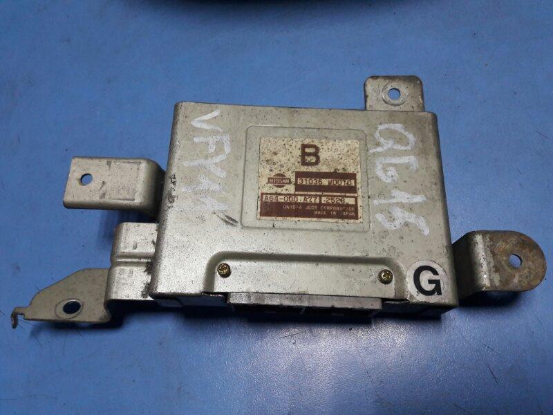 Блок переключения кпп Nissan Wingroad Y11 QG15DE