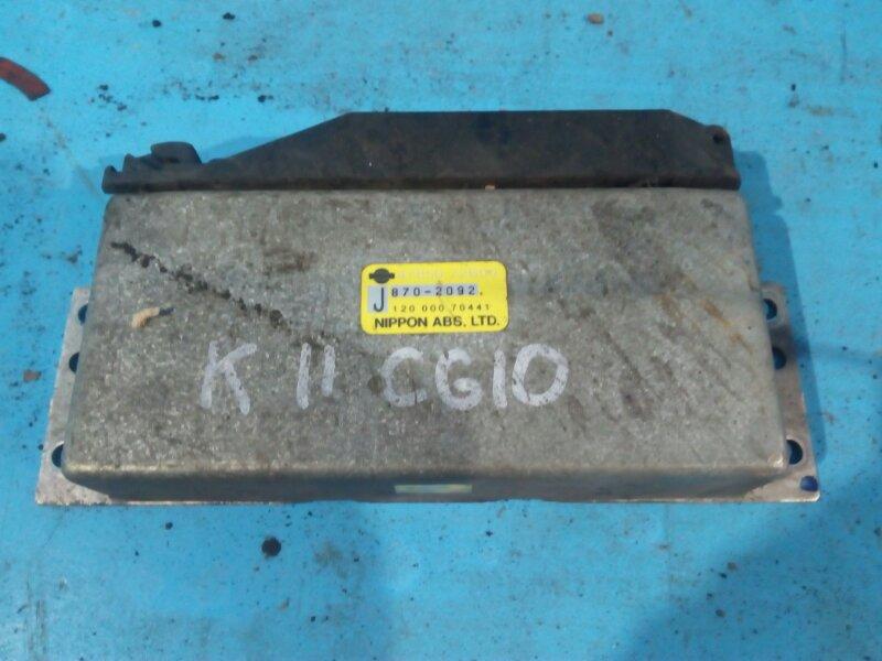 Блок управления efi Nissan March K11 CG10-DE 1998г