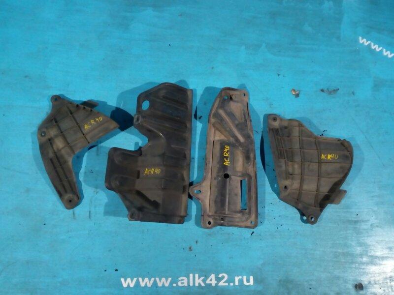 Защита двигателя Toyota Estima ACR40 1AZ