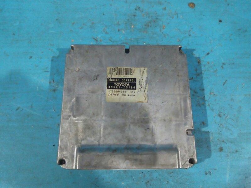Блок управления efi Toyota Corona Premio ST210 3S-FSE