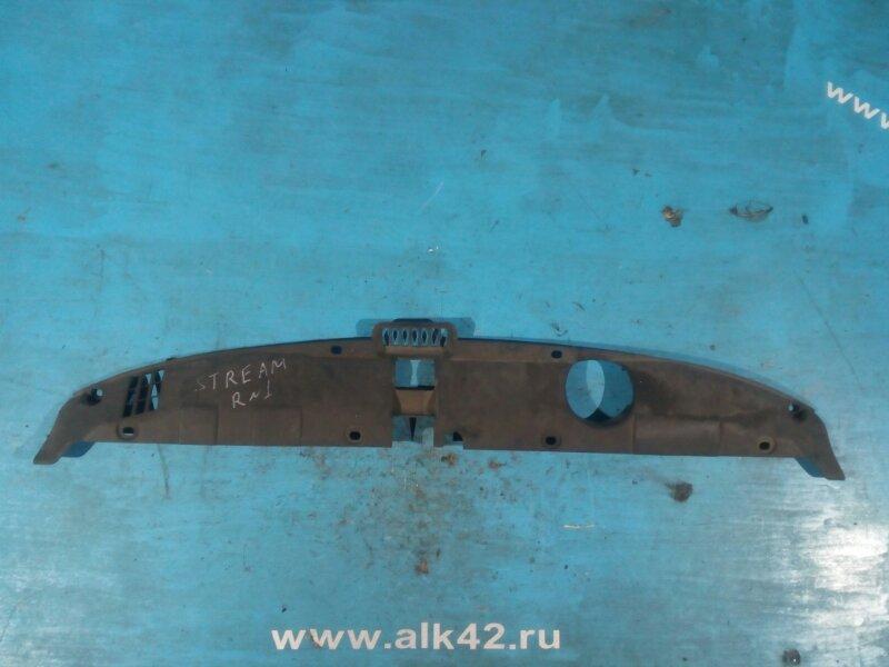 Пластм. защита над радиатором Honda Stream RN1 D17A передний