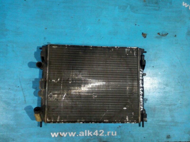 Радиатор двс Dacia Logan K7M710