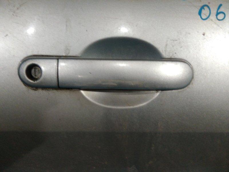 Ручка двери внешняя Nissan Tiida C11 2004 передняя правая