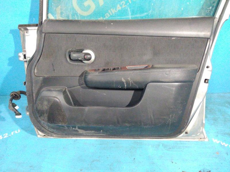 Обшивка дверей Nissan Tiida C11 2004 передняя правая