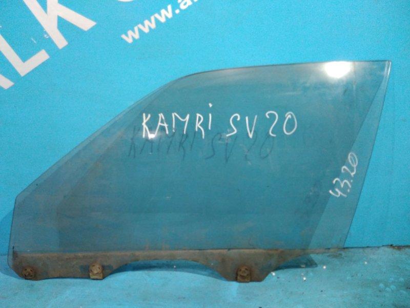 Стекло двери Toyota Camry SV20 1S переднее левое
