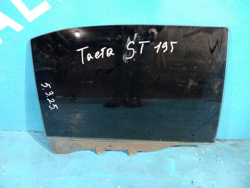 Стекло двери Toyota Corona ST195 3S-FE заднее правое