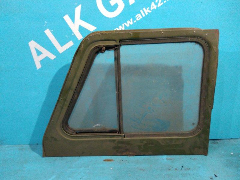 Стекло двери Уаз 469 402 переднее левое