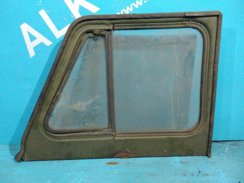 Стекло двери Уаз 469 402 заднее правое