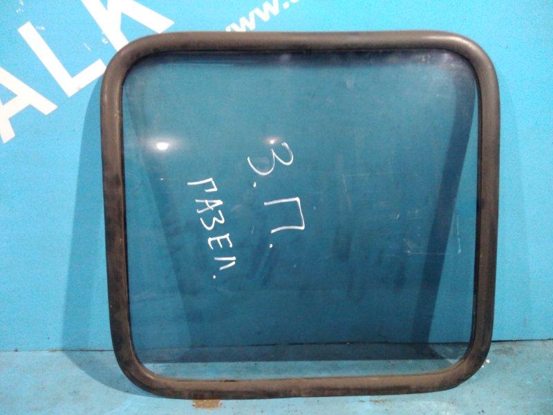 Стекло салона Газ Газель 402 1996г заднее правое