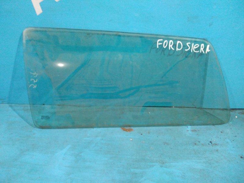 Стекло салона Ford Sierra 1990г заднее левое