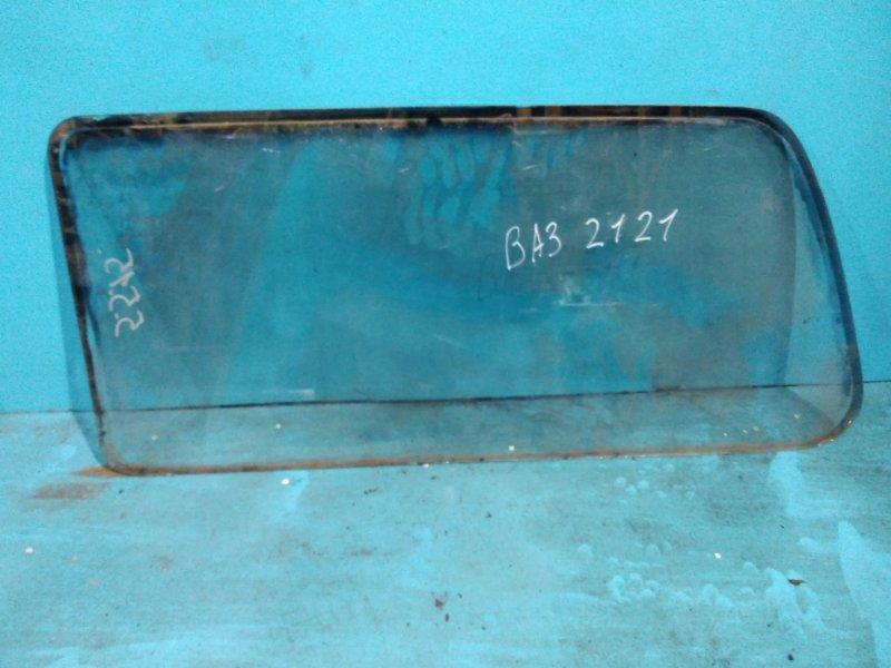 Стекло салона Ваз Нива 2121 2121 заднее правое
