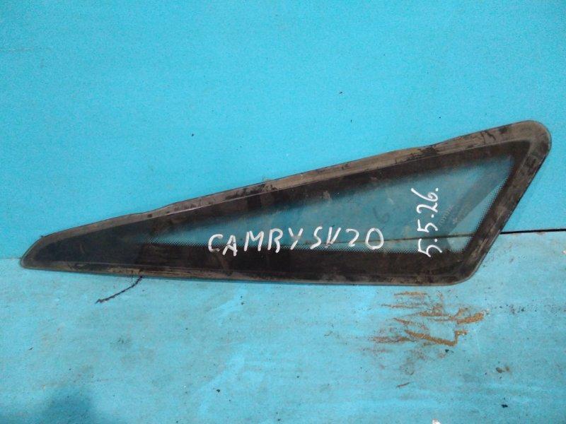Стекло салона Toyota Camry SV20 1S заднее левое