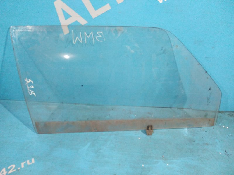 Стекло двери Bmw 318 E21 M10 переднее правое
