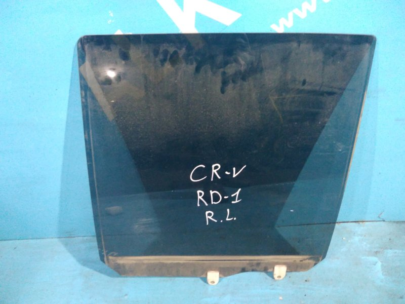 Стекло двери Honda Cr-V RD1 F20B заднее левое