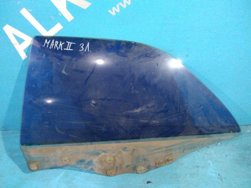 Стекло двери Toyota Mark Ii GX90 92 заднее левое