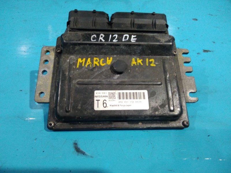 Блок управления efi Nissan March AK12 CR12-DE 2002г