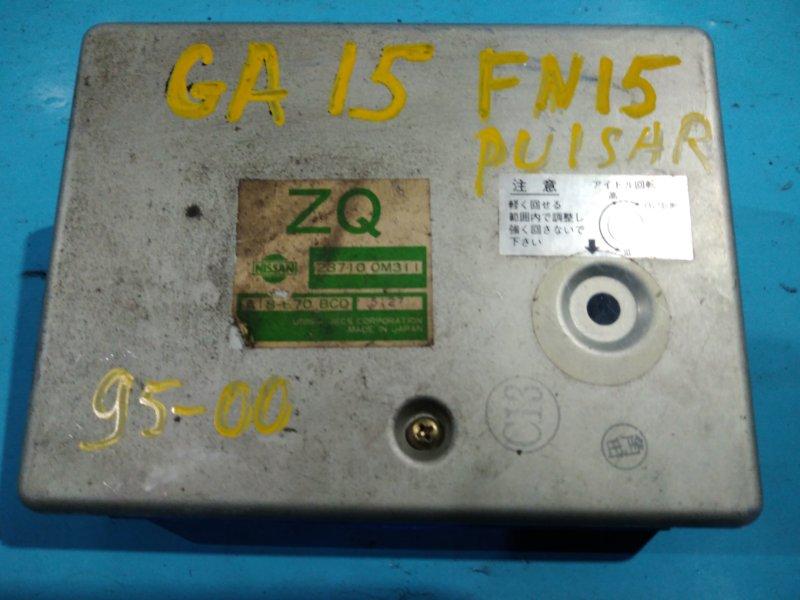 Блок управления efi Nissan Pulsar FN15 GA15-DE 1998г
