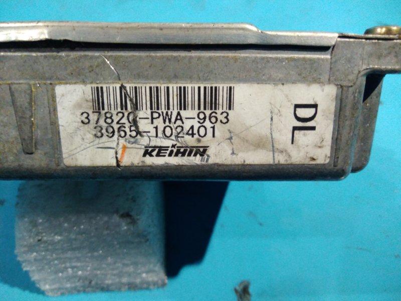 Блок управления efi Honda Fit GD1 L13A 2001г
