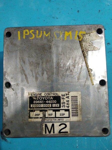 Блок управления efi Toyota Ipsum SXM15 3S-FE