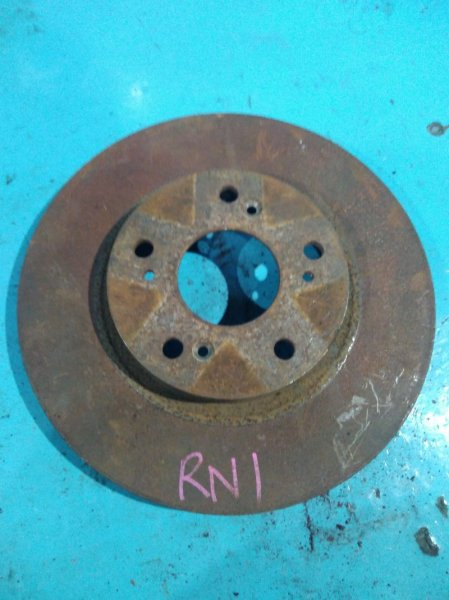 Тормозной диск Honda Stream RN1 K20A передний