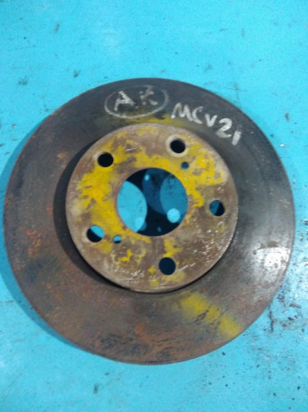 Тормозной диск Toyota Mark Ii Qualis MCV21 2MZ передний
