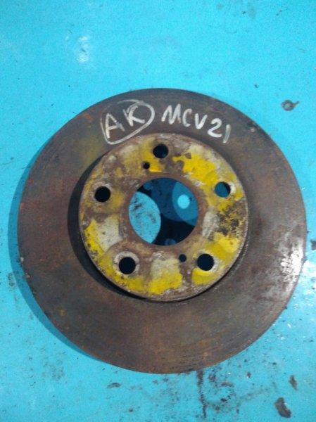 Тормозной диск Toyota Windom MCV21 2MZ передний