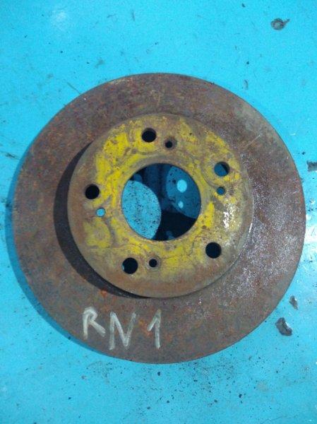 Тормозной диск Honda Stream RN1 D17A передний