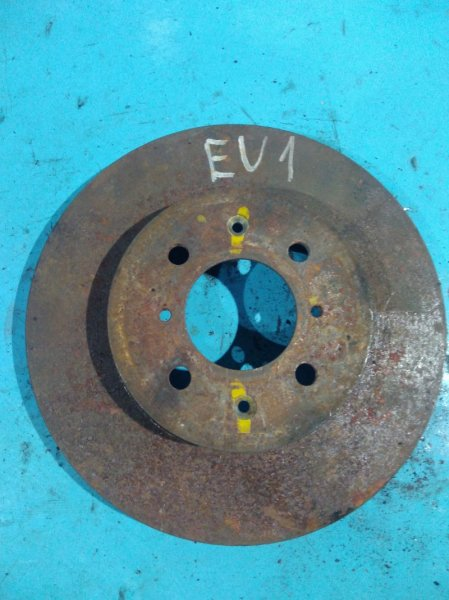 Тормозной диск Honda Civic EU1 D15B передний
