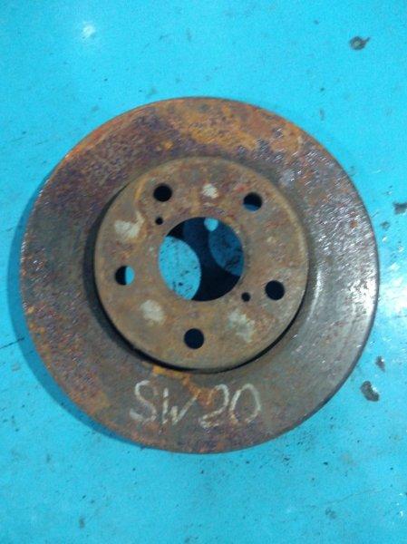Тормозной диск Toyota Mr-2 SW20 3SGE 1998 передний