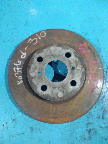 Тормозной диск Toyota Funcargo NCP20 2NZ-FE передний